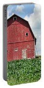 Red Barn And New Corn Portable Battery Charger