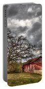 Red Barn On The Boswell Farm Portable Battery Charger