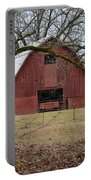 Red Barn Series Picture A Portable Battery Charger