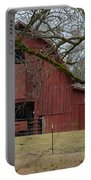 Red Barn Series Picture E Portable Battery Charger
