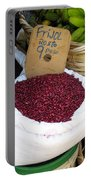 Red Beans At Nicaragua Market Portable Battery Charger
