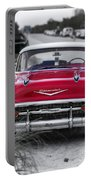 Red Belair At The Beach Standard 11x14 Portable Battery Charger