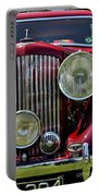 Red Bentley Grill Portable Battery Charger