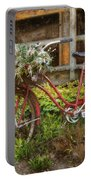 Red Bicycle Portable Battery Charger