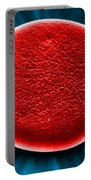 Red Blood Cell Sem Portable Battery Charger