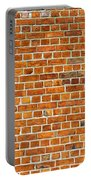 Red Brick Wall Texture Portable Battery Charger