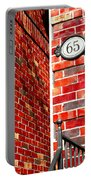 Red Bricks Portable Battery Charger