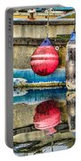 Red Buoy Reflections Of Alaska Portable Battery Charger
