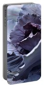 Red Cabbage Abstract Portable Battery Charger