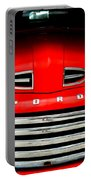 Red Cheeks Ford Portable Battery Charger
