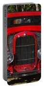 Red Classic Hotrod Portable Battery Charger