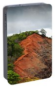 Red Cliff At Waimea Portable Battery Charger