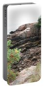 Red Cliffs Of Acadia  Portable Battery Charger