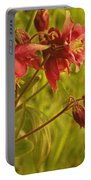 Red Columbine Portable Battery Charger