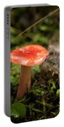 Red Coral Mushroom Portable Battery Charger