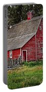 Red Country Barn Portable Battery Charger