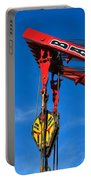 Red Crane - Photography By William Patrick And Sharon Cummings Portable Battery Charger