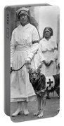Red Cross Parade, 1920 Portable Battery Charger