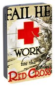 Red Cross Poster, C1918 Portable Battery Charger