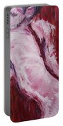 Red Curtains - Nudes Gallery Portable Battery Charger