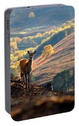 Red Deer Calf Portable Battery Charger