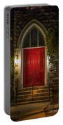 Red Door Portable Battery Charger