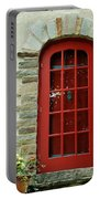 Red Door In Baltimore Portable Battery Charger