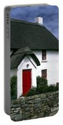 Red Door Thatched Roof Portable Battery Charger