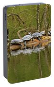 Red Eared Slider Turtles 2 Portable Battery Charger