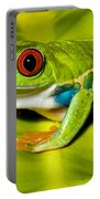 Red-eyed Treefrog Portable Battery Charger