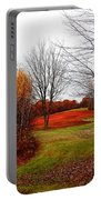 Red Field Autumn Portable Battery Charger