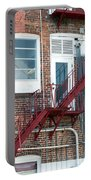 Red Fire Escape Usa II Portable Battery Charger