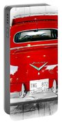 Red Fleetwood Portable Battery Charger