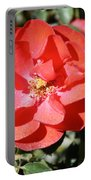 Red Flower I Portable Battery Charger