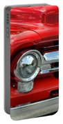 Red Ford Truck Portable Battery Charger