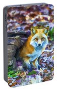 Red Fox At Home Portable Battery Charger