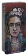 Red Frida 2013 Portable Battery Charger