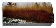 Red Gold Hedge Portable Battery Charger