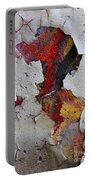 Red Graffiti Portable Battery Charger