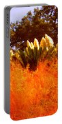 Red Grass Portable Battery Charger