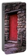 Red Grist Mill Door Portable Battery Charger