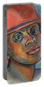 Red Hat Lady Portable Battery Charger