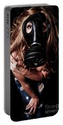 Red Head Gas Mask Portable Battery Charger