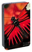 Red Heliconius Dora Butterfly Portable Battery Charger