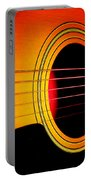 Red Hot Guitar Portable Battery Charger