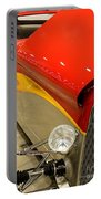 Street Car - Red Hot Rod Portable Battery Charger