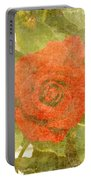 Red Hot Rose Portable Battery Charger