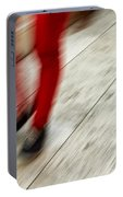 Red Hot Walking Portable Battery Charger