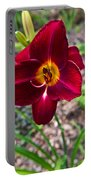 Red Lady Lily 1 Portable Battery Charger