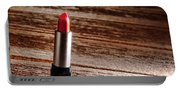 Red Lipstick Portable Battery Charger